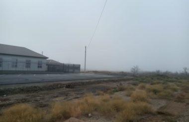 Отбор проб атмосферного воздуха сотрудниками филиала ЦЛАТИ по Астраханской области.