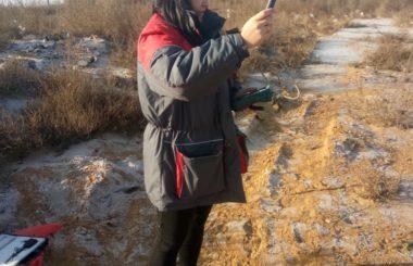 Отбор проб сотрудниками филиала ЦЛАТИ по Астраханской области в рамках договорных отношений с ООО «Чистая среда».