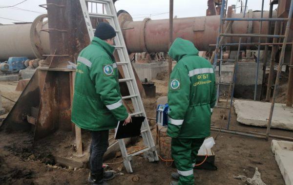 Отбор проб специалистами филиала ЦЛАТИ по Астраханской области в рамках договорных отношений.