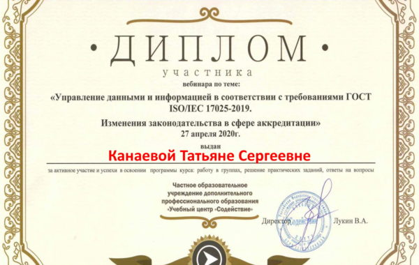 В систему менеджмента качества (СМК) испытательного центра (ИЦ) филиала ЦЛАТИ по Астраханской области внесены изменения.