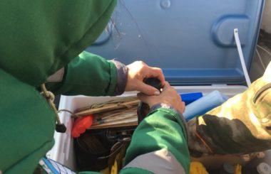 Отбор проб воды специалистами филиала ЦЛАТИ по Астраханской области в рамках программы «Реализация отдельных мероприятий приоритетного направления «Сохранение и предотвращение загрязнения реки Волга».